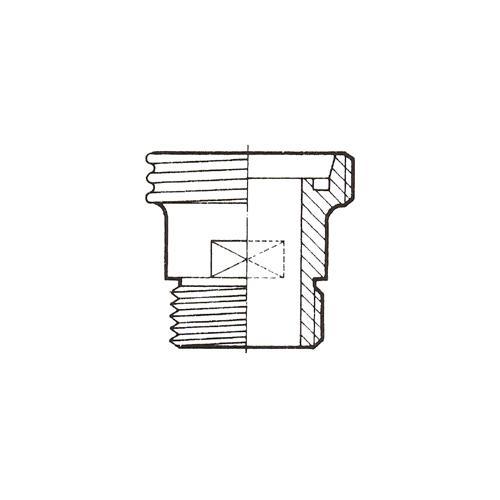 RACORD DIN-GAS. ROSCA EXTERIOR. DIN 11850